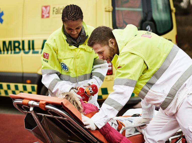 Falck wins ambulance tender in Danish Capital Region