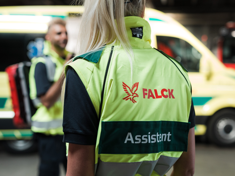 Falck wins contracts in the Central Denmark Region