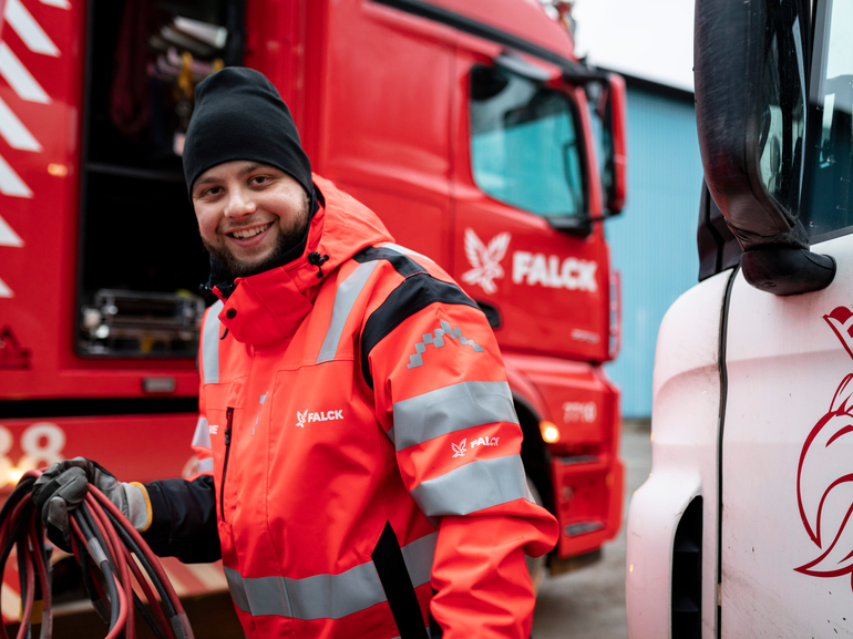 Falck wins contract with the Danish Road Directorate and the National Police