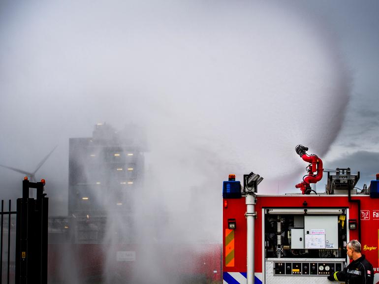 Falck initiates large fire contract in Belgium