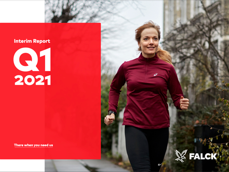 Falck delivered solid Q1 results
